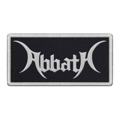 abbath - Logo Embroidered Patch