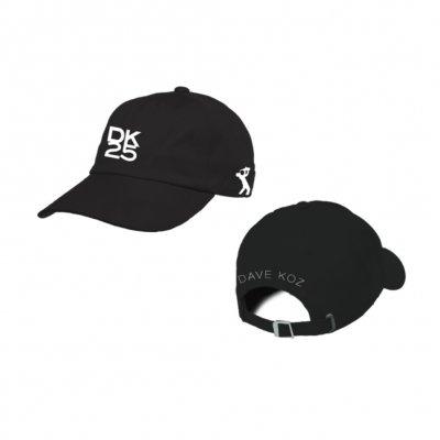 dave-koz - DK25 Polo Cap (Black)