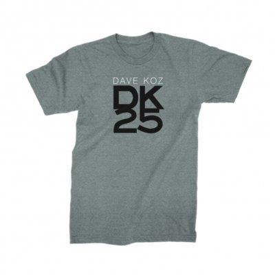 dave-koz - DK25 Tee (Heather Grey)