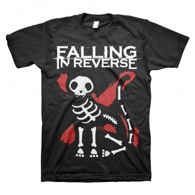 falling-in-reverse - Cat X-Ray Tee (Black)