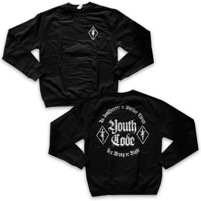 youth-code - Wrong Or Right Crew Neck (Black)