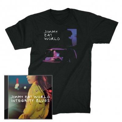 Jimmy Eat World - Integrity Blues CD + Get Right T-Shirt (Black)
