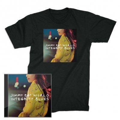 Jimmy Eat World - Integrity Blues CD + Cover T-Shirt (Black)
