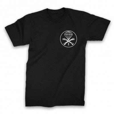 Parachute T-Shirt (Black)