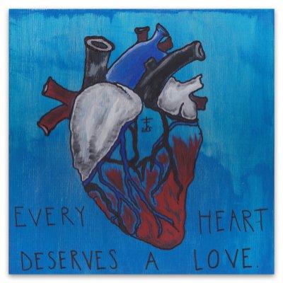 Frank Iero - Every Heart Deserves A Love Giclee Print