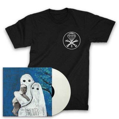 Frank Iero And The Patience - Parachutes LP (White) + Parachute T-Shirt (Black)