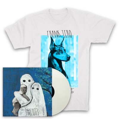Frank Iero And The Patience - Parachutes LP (White) + Doberman T-Shirt (White)