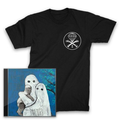 Frank Iero And The Patience - Parachutes CD + Parachute T-Shirt (Black)