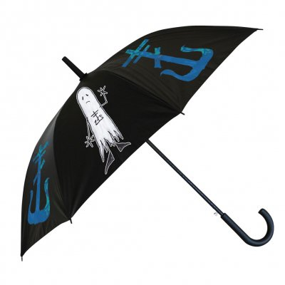 frank-iero - Blue Cross Umbrella
