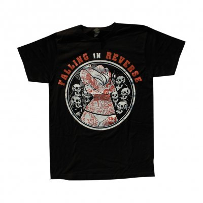 falling-in-reverse - Tattoo Girl Tee (Black)