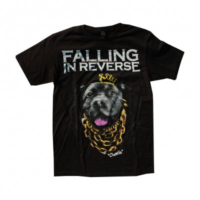 falling-in-reverse - Dog tee (Black)
