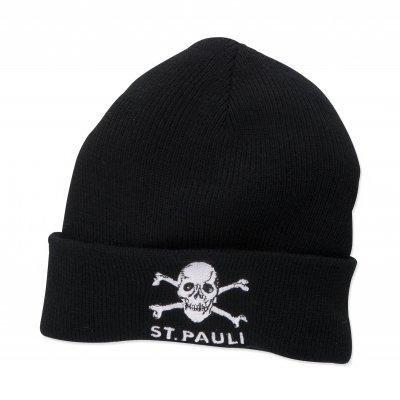 FC St Pauli - St. Pauli Skull Embroidered Beanie