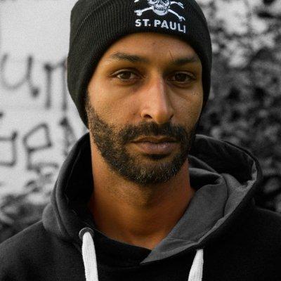 St. Pauli Skull Army Cap (Black) - Shop the FC St. Pauli North ... 09bb8fb097b2