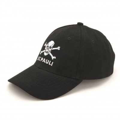 FC St Pauli - St. Pauli Skull Adjustable Cap (Black)