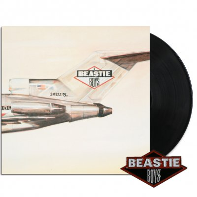 beastie-boys - Licensed To Ill LP + Enamel Pin Bundle