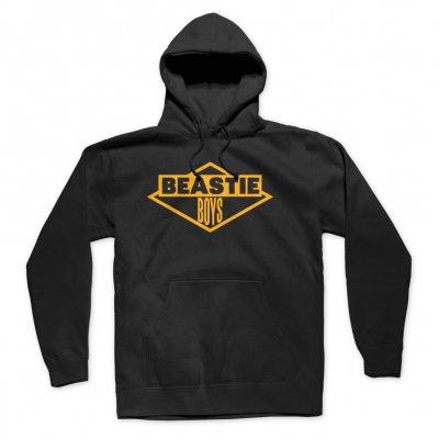 beastie-boys - Gold Logo Hoodie (Black)