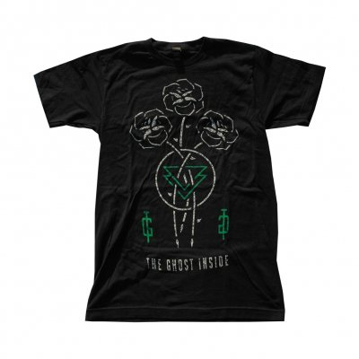the-ghost-inside - Roses Lock Ups Tee