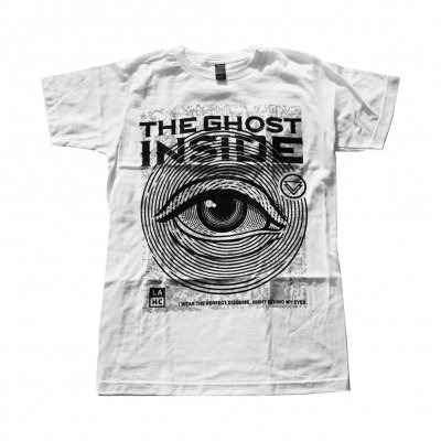 the-ghost-inside - Eye Tee (White)