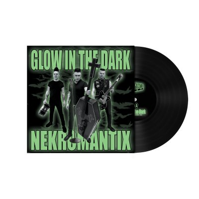 "hellcat-records - Glow in the Dark 7"" (Black)"