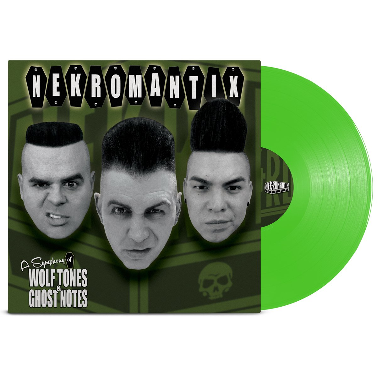 A Symphony Of Wolf Tones & Ghost Notes LP (Translu