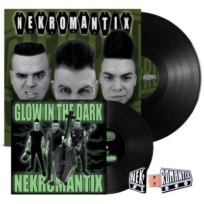 "hellcat-records - A Symphony... LP (Black) + Glow In The Dark 7"" + Flash Drive Bundle"