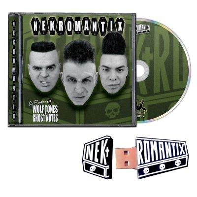 hellcat-records - A Symphony... CD + Flash Drive Bundle