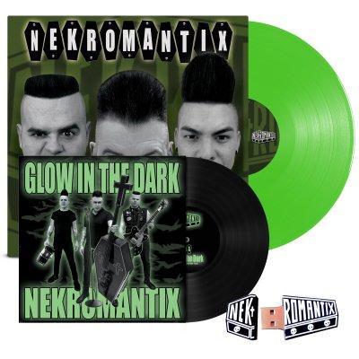 "hellcat-records - A Symphony... LP (Green) + Glow In The Dark 7"" + Flash Drive Bundle"