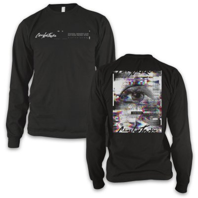cover-your-tracks - Requiem Longsleeve T-Shirt (Black)