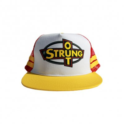 Strung Out - OG Logo Trucker Hat (Red/Yellow)
