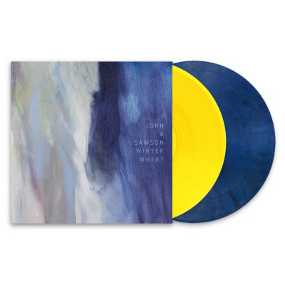 john-k-samson - Winter Wheat 2xLP (Yellow/Blue)