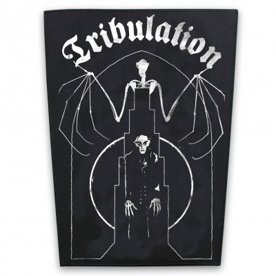 tribulation - Bat Back Patch