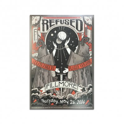 Refused - Refused Fillmore Poster