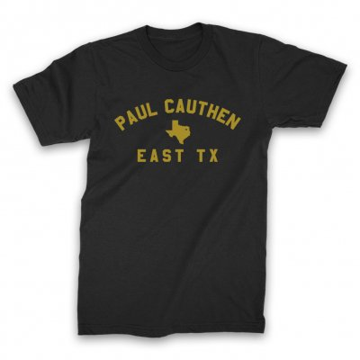 paul-cauthen - East TX T-Shirt (Black)