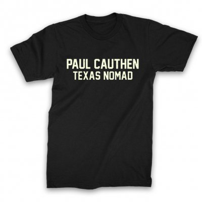 paul-cauthen - Texas Nomad T-Shirt (Black)