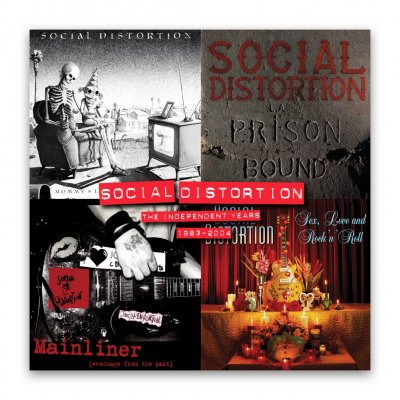 social-distortion - The Independent Years: 1983 - 2004 - Vinyl Box Set