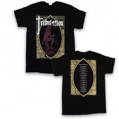 tribulation - 2016 Summer Tour T-Shirt (Black)