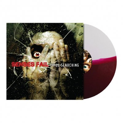 Senses Fail - Still Searching LP (Maroon/White)