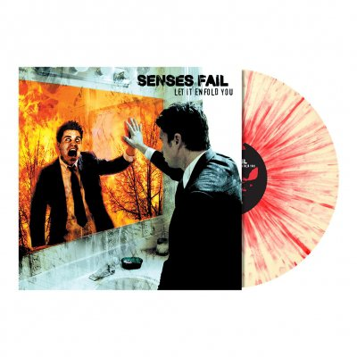 Senses Fail - Let It Enfold You LP (Cream/ Red Splatter)