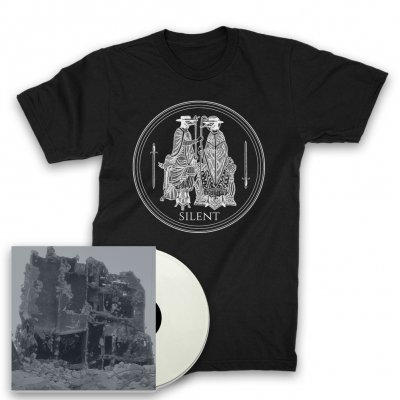 Silent - A Century of Abuse LP (White) + Plague T-Shirt (White)