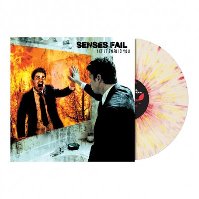 Senses Fail - Let It Enfold You LP (White/ Red/Yellow)