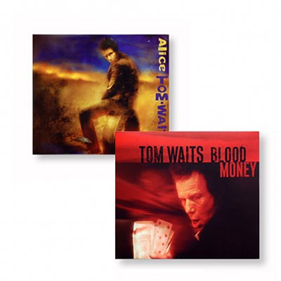 tom-waits - Alice & Blood Money CD Bundle