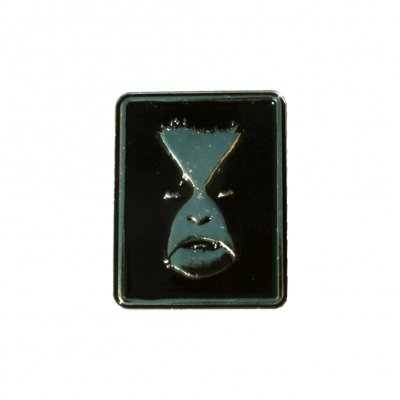 Portrait Enamel Pin