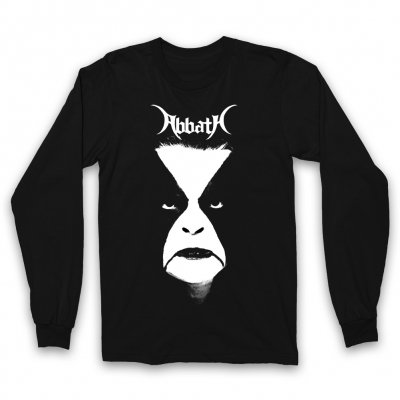 abbath - Portrait Long Sleeve (Black)