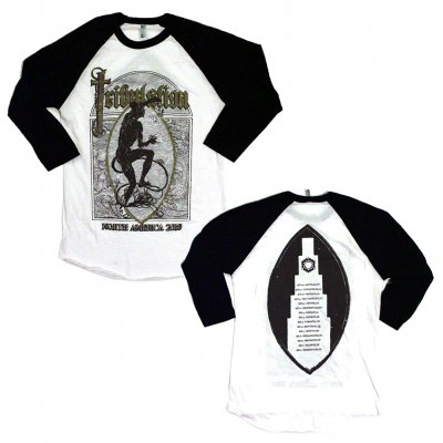 tribulation - 2016 Summer Tour Raglan (White/Black)