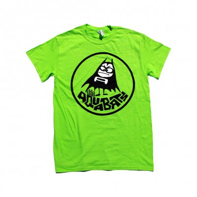 the-aquabats - Classic Bat Tee (Neon Green)