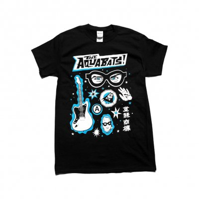 the-aquabats - Mystery Collage Tee