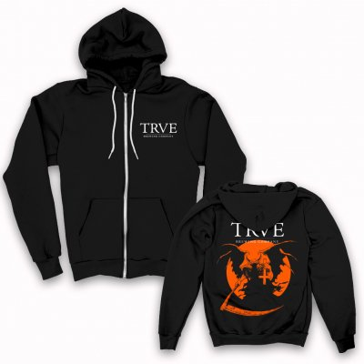 trve-brewing-company - Warmoon Zip Up Sweatshirt (Black)