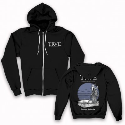 trve-brewing-company - Buried Sun Zip Up Sweatshirt (Black)