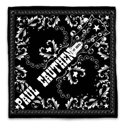paul-cauthen - My Gospel Bandana (Black)