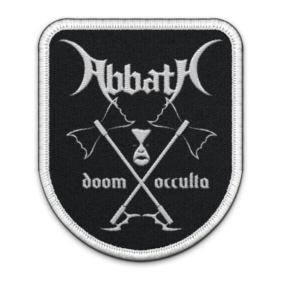 Abbath - Doom Occulta - Rounded Patch
